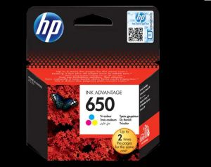 HP 123 Tri-color Original Ink Cartridge