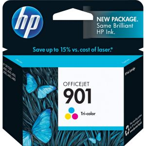 HP 901 Tri-colour Printer Ink Cartridge Original