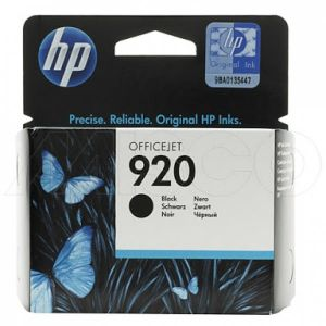 HP 920 Black Printer Ink Cartridge