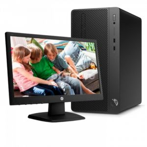 "HP 290 G3 DESKTOP INTEL COREI5, 4GB RAM, 1TB HDD, 3.2GHZ, DVDWR,FREEDOS WITH 18.5"" MONITOR"